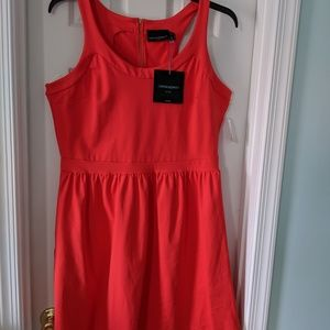 Cynthia Rowley Red Dress 1X NWT
